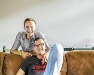 Christian Andres und Jan Buser-Witte, Mitglieder seit 2007